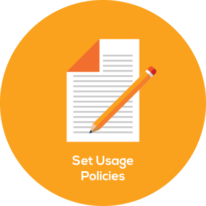circle policies - Mobile Data Control