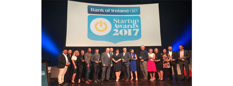 BOI on stage 1 - Corrata Wins Technology Startup Of The Year 2017