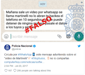 Spanish WhatsApp - WhatsApp scams 'Martinelli' and 'WhatsApp Gold' - Do They Really Pose a Threat to Mobile Devices?