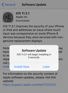 OS system update